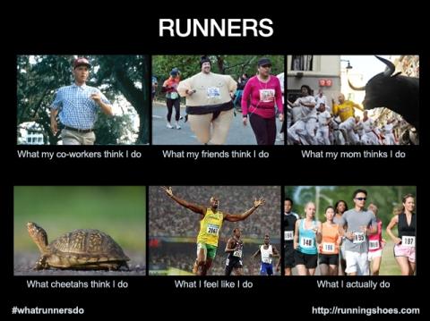 Löpare är idioter, det vet ju alla.